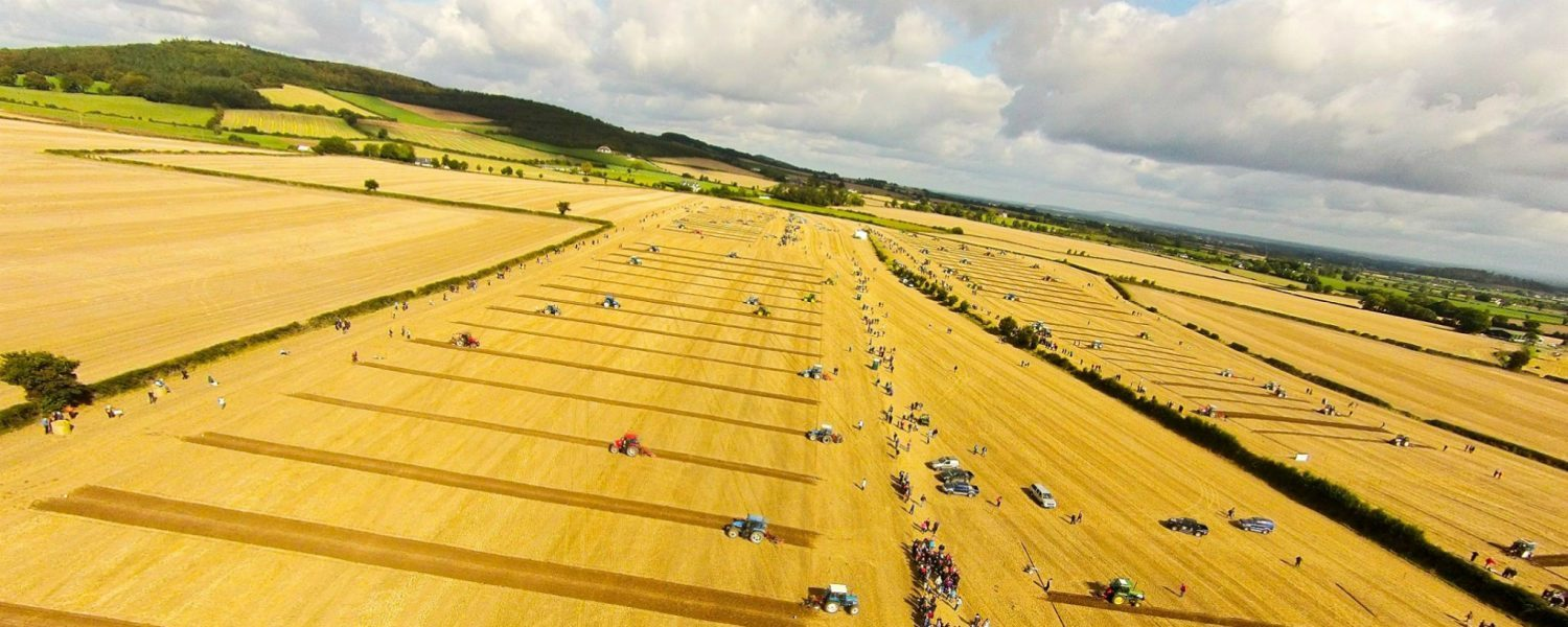 The National Ploughing Championship in Ireland