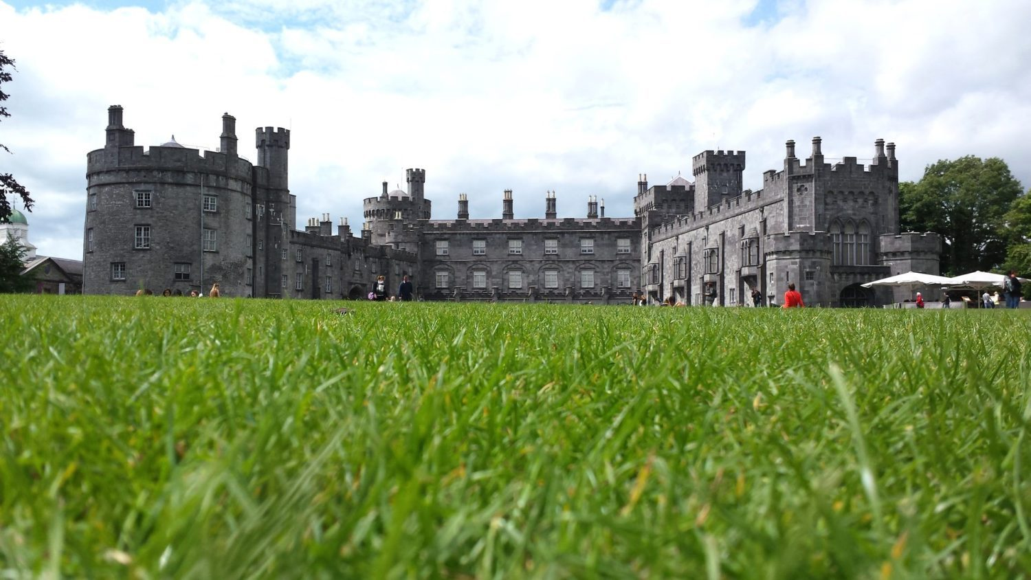 Kilkenny Castle in the heart of the Ancient City of Kilkenny once inhabited by the Vikings